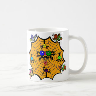 Sophie the Spider in a love smooch. Coffee Mugs