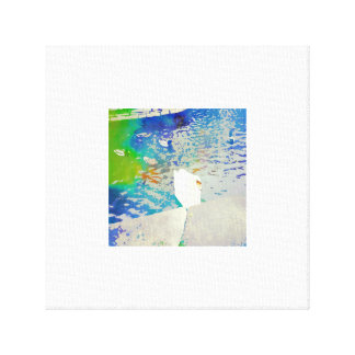 Sophie the Swan Canvas Print