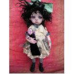 Sophie y su muñeca del vampiro esculturas fotograficas