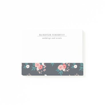 Professional Business Sophisticated Botanical Business Post-its Post-it Notes