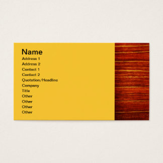 Sophisticated Business Card