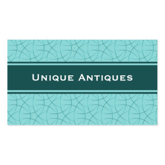 Sophisticated Business Card, Teal