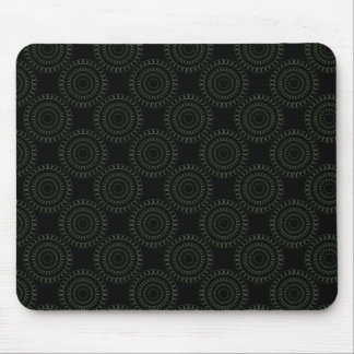 Sophisticated Chic Mousepad, Green Mouse Pad