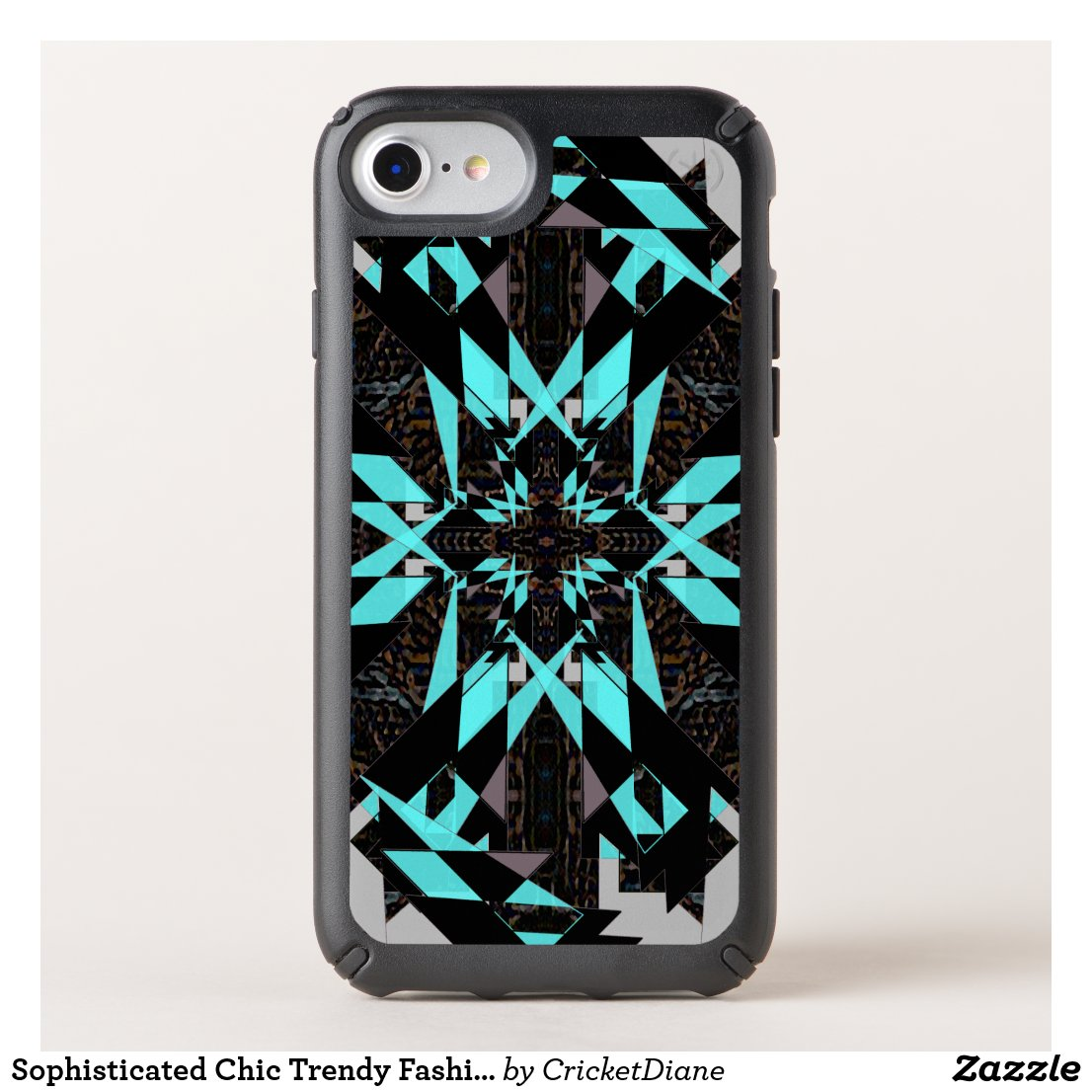 Sophisticated Chic Trendy Fashion iPhone Case