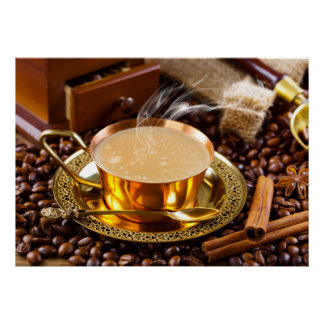Sophisticated Coffee Art for Home / Business Decor