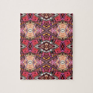 Sophisticated Colored High End Fractal Pattern Jigsaw Puzzle