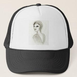Sophisticated Flapper Trucker Hat