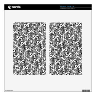 Sophisticated Fleur Decals For Kindle Fire