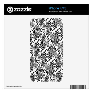 Sophisticated Fleur Skin For The iPhone 4S