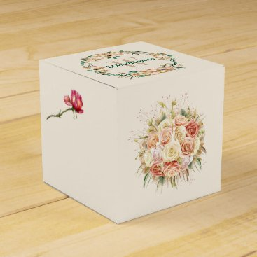 Professional Business Sophisticated Floral Small Gift Box