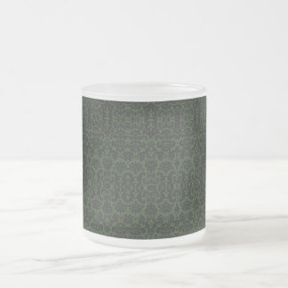 Sophisticated ~ Frosted Glass Mug