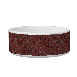 Sophisticated Gold Monogrammed Pet Dish - 2 Pet Water Bowl