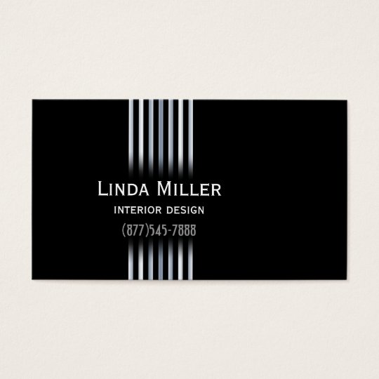 Sophisticated Gradients Business Card