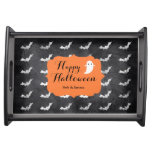 Sophisticated Halloween Custom Party Serving Tray