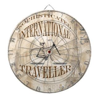 Sophisticated International Traveller Dartboard