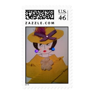 Sophisticated Lady Postage stamp