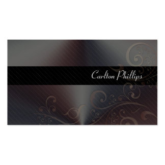 Sophisticated Marketing Consultant business cards