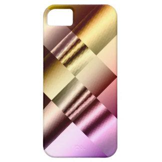 Sophisticated Metallic Patchwork  iPhone(5) Case