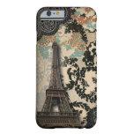 Sophisticated Paris Eiffel Tower Lace vintage case iPhone 6 Case
