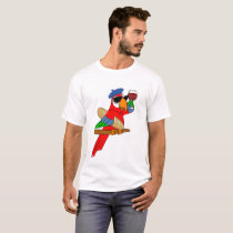 SoPHisticated Parrot t-shirt