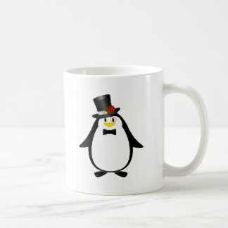 Sophisticated Penguin Coffee Mug
