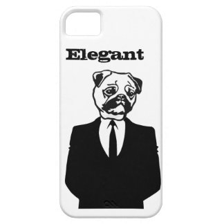 Sophisticated Pug iPhone SE/5/5s Case