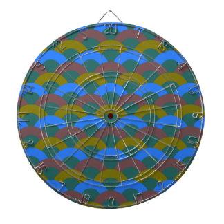 Sophisticated Seamless Pattern Dartboard