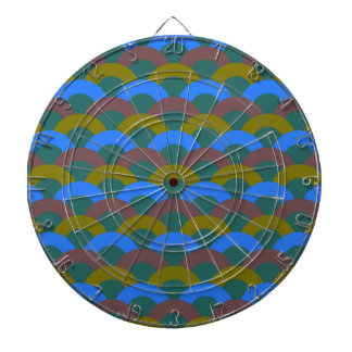 Sophisticated Seamless Pattern Dartboard With Darts