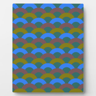 Sophisticated Seamless Pattern Plaque