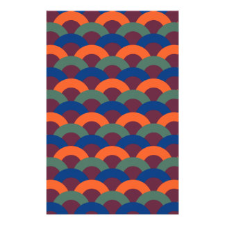 Sophisticated Seamless Pattern Stationery