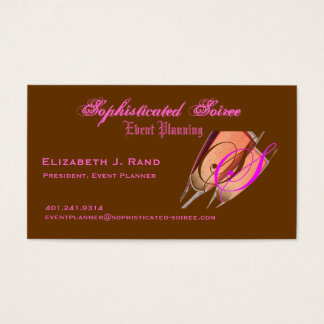 Sophisticated Soiree Business Card