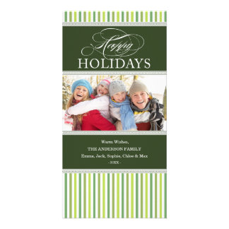 SOPHISTICATED STRIPES | HOLIDAY PHOTO CARD