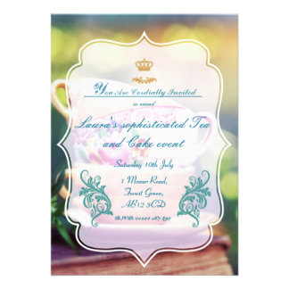 Sophisticated Summer party Invitations