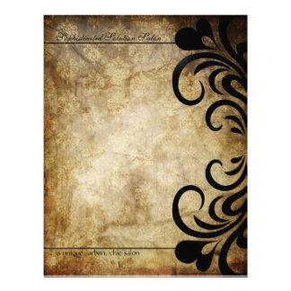 Sophisticated Swirl Letterhead