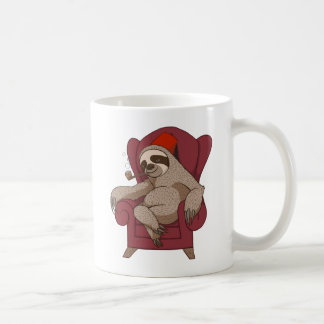 Sophisticated Three Toed Sloth Mug