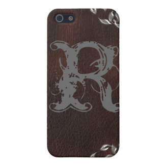 Sophisticated Western Leather Wedding Cover For iPhone SE/5/5s