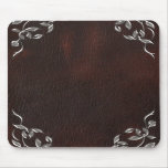 Sophisticated Western Leather Wedding Mouse Pads