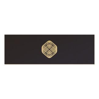 Sophisticated Wire - Indigo Mini Business Card