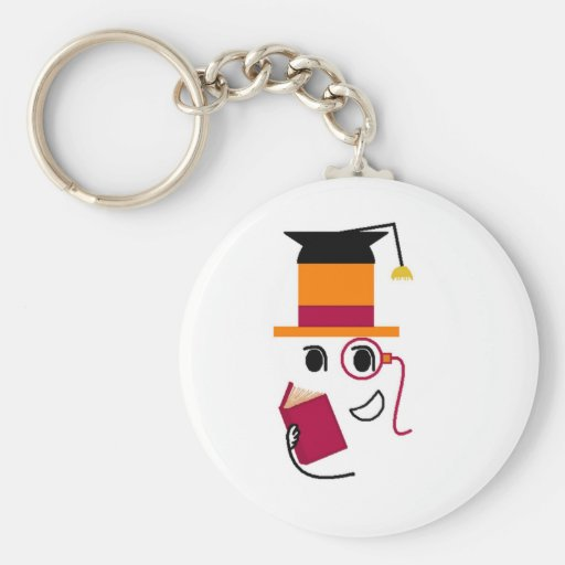 Sophistocated Graduate Key Chains