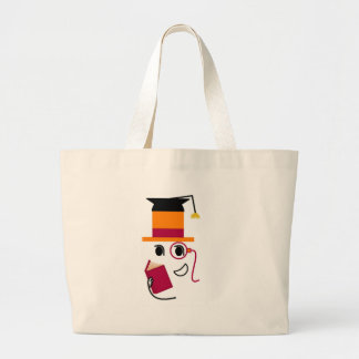 Sophistocated Graduate Large Tote Bag