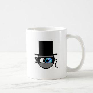 Sophistocated Ninja Classic White Coffee Mug
