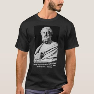 Sophocles on Darkness T-Shirt