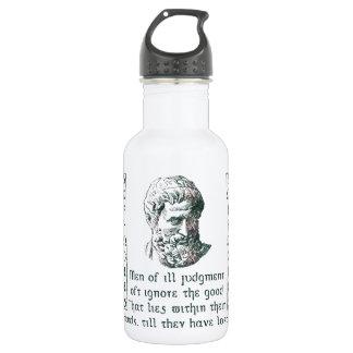 Sophocles 18oz Water Bottle