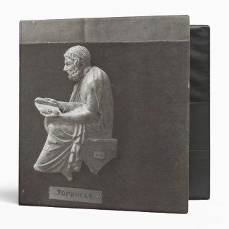 Sophocles  poet reading 3 ring binders