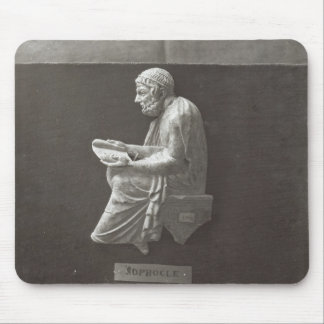 Sophocles  poet reading mouse pad