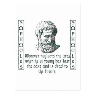Sophocles Postcard