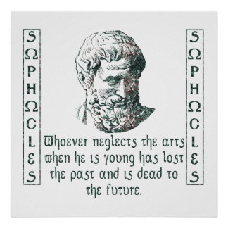 Sophocles Póster