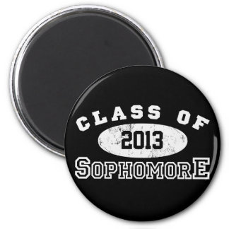 Sophomore Class Of 2 Inch Round Magnet