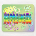 Sophomore - Peace Mouse Pad
