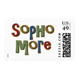 Sophomore Postage Stamp